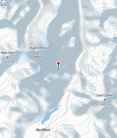 Karte / Rock Camp 5160m