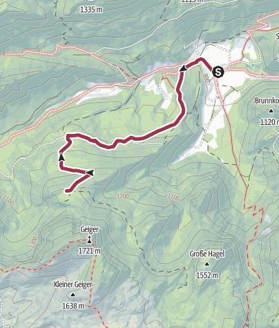 Karte / Adambaueralm Hinterwildalpen in Wildalpen