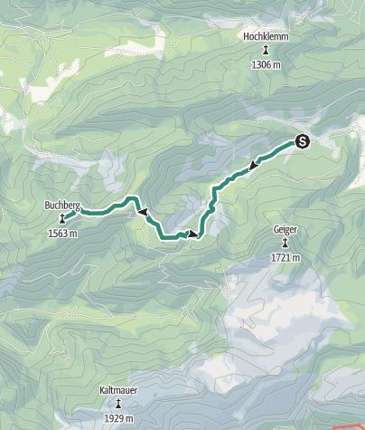 Karte / Buchberg Wildalpen