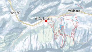 Karte / Alt St. Johann