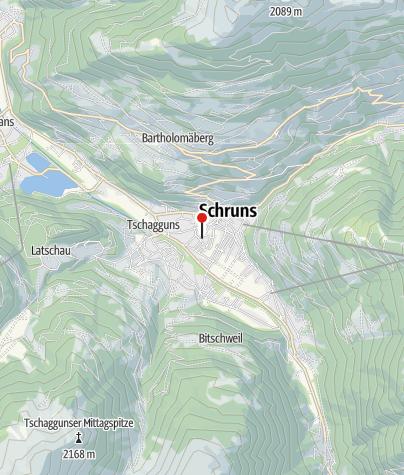 Karte / Haus Lärchenhain