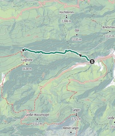 Karte / Goss Hinterwildalpen in Wildalpen