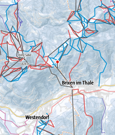 מפה / SkiWelt Wilder Kaiser – Brixental