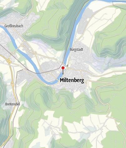 Karte / Wohnmobilstellplatz am Schwimmbad