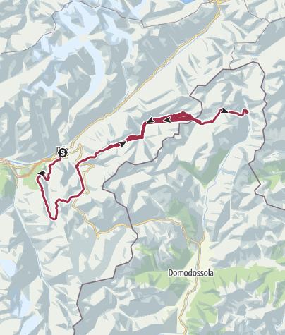 Karte / Tourenplanung am 2020-05-31
