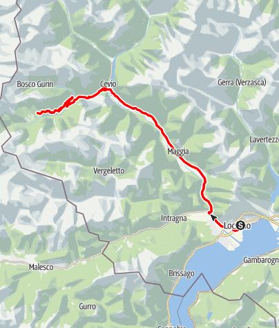 Locarno-Campo Vallemaggia-Locarno • Motor Bike » Dreamango