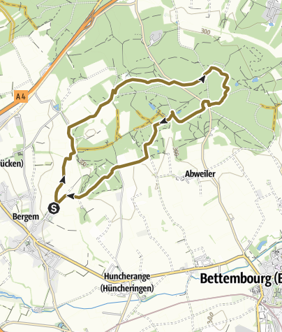 Mapa / Ausreiden - Tour 1