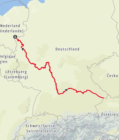 Map / Deutsche Limes-Straße