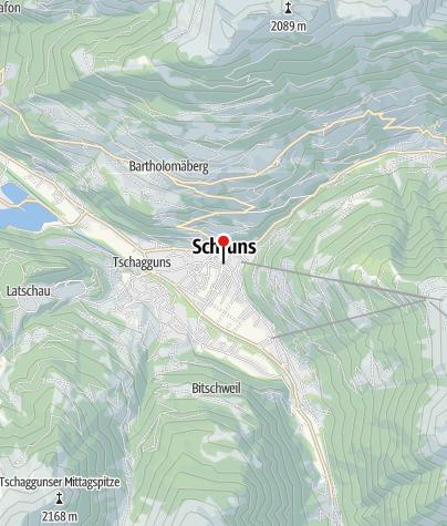 Karte / Haus in Schruns