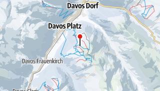 Karte / Jakobshorn
