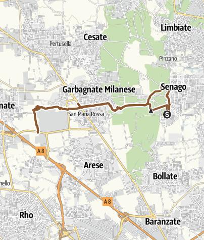Map / Senago-parco rosa camuna