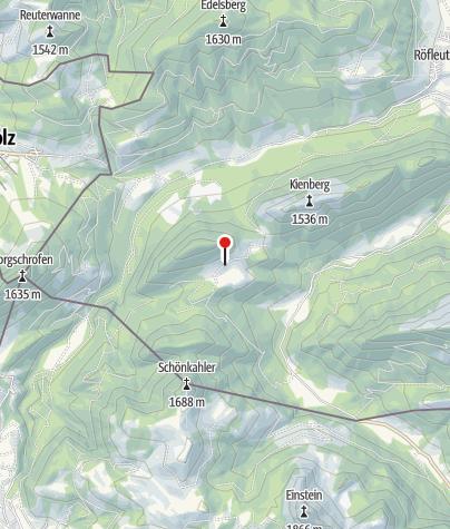 Karte / Bärenmoosalpe (1248 m)