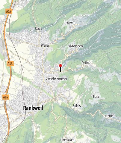 Karte / Schmiedemuseum Röthis