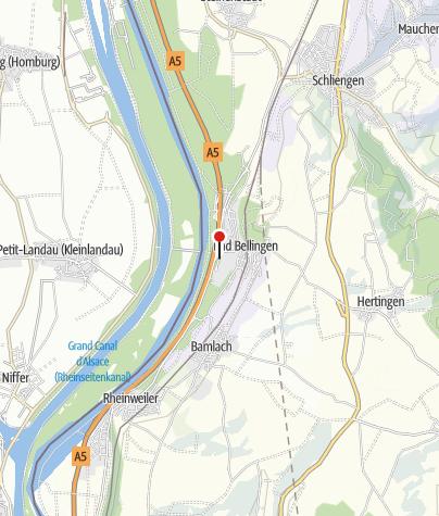 Carte / Thermes Balinea - Bad Bellingen