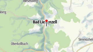 Carte / Thermes Paracelsus - Bad Liebenzell