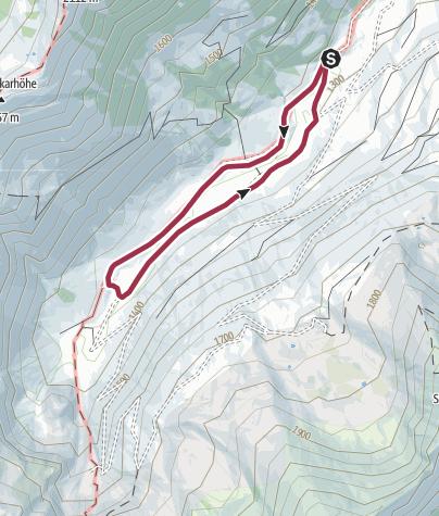 Karte / Sattental Rundwanderweg
