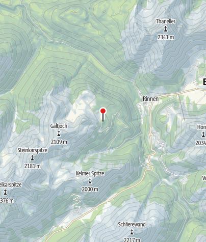 Karte / Ehenbichler Alpe