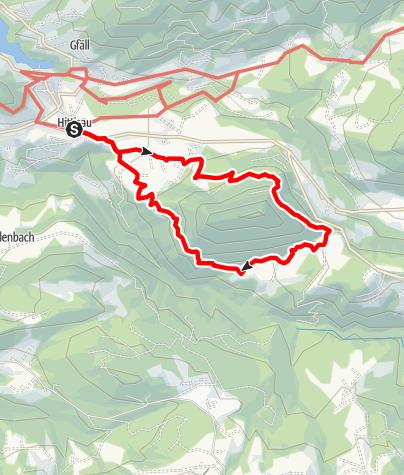Karte / Hittisau | Hinterbergalpen