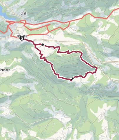 Mapa / Hittisau | Hinterbergalpen