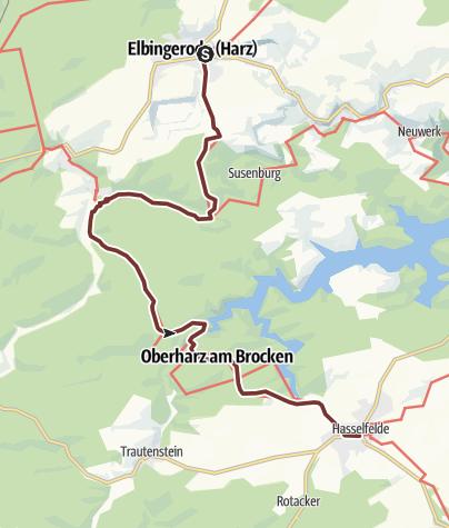 Karte / VIA ROMEA Elbingerode - Hasselfelde (19)