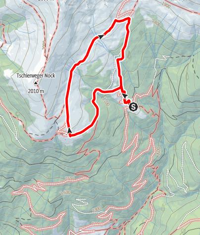 Karte / H2O-Höhenweg