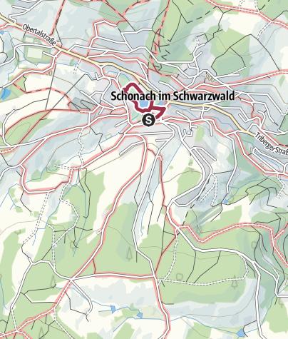 Map / Schonach - Barrierefreie Wanderung rund um den Kurpark