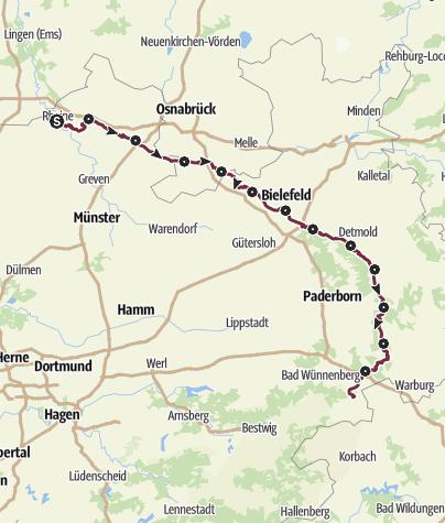 Map / Hermannshöhen