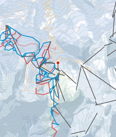 Karte / La Plagne