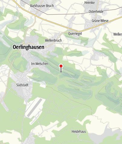 Kaart / Lönsdenkmal Oerlinghausen