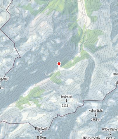 Karte / Breitengehren-Alpe