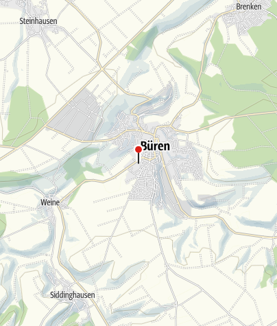 Kaart / Schulmuseum Büren
