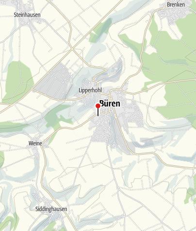 Karte / Schulmuseum Büren
