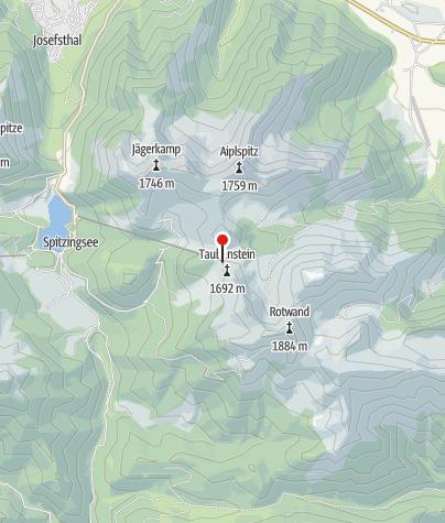 Karte / Berggaststätte Taubensteinbahn