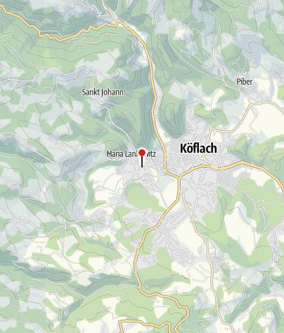 Karte / Gasthaus Thöny