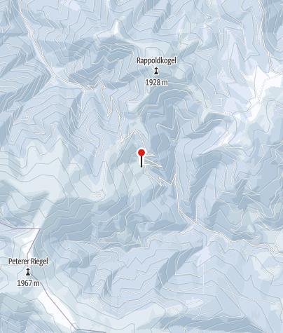 Karte / Schi- und Rodelgebiet Salzstiegl