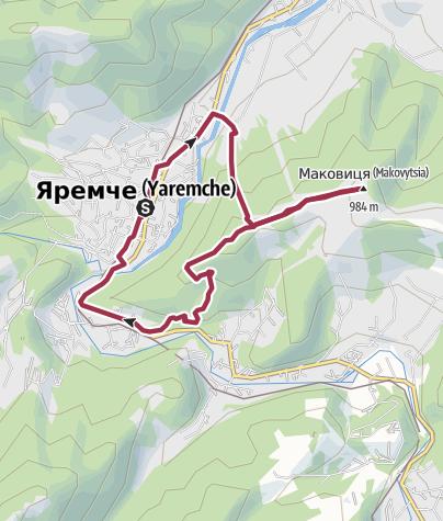 מפה / Маковиця (Яремча)