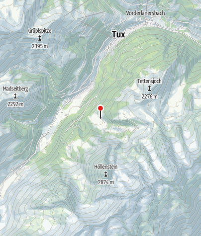 Mapa / Höllensteinhütte