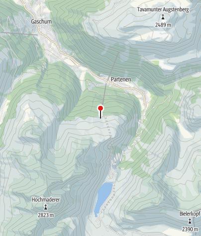 Karte / Vermuntbahn