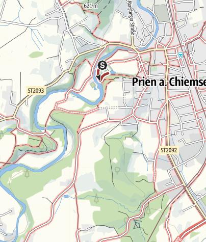 Karte / Trimm-dich-Pfad Eichental