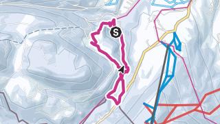 Map / Winter hike through the Breitachklamm near Oberstdorf