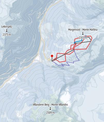 Karte / Reinswald
