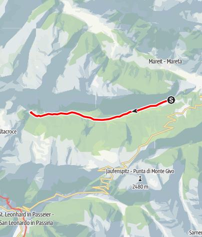 Map / Pfeifer Huisele path