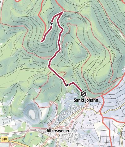 Map / Zustieg Orensfels