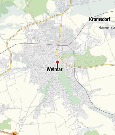 Karte Weimar Und Umgebung.Weimar Tourist Information Infozentrum Outdooractive Com