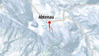 Map / Abtenau Karkogel
