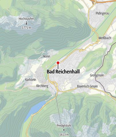 Karte / Ferienwohnung Riedelstraße