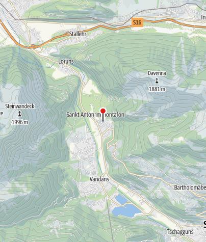 Karte / Ponyhof Hüahop