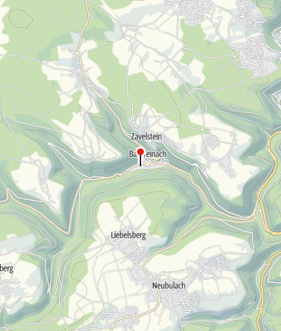 Map / Schlossberghütte Bad Teinach