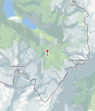 Karte / Wasseralm