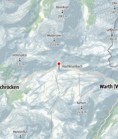 Karte / Weltfriedenskreuz